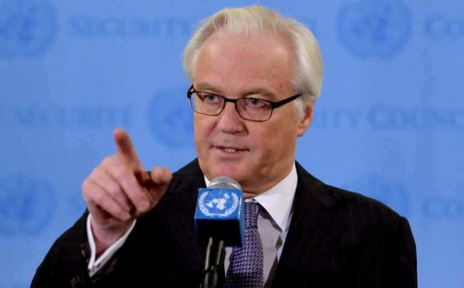 Виталий Чуркин: Ако ситуацията в Украйна се влоши, Русия ще си спомни за войските