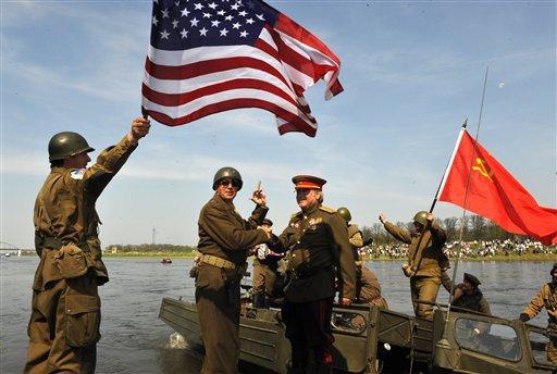 Дипломати и ветерани от ВСВ отбелязаха годишнината от срещата на Елба