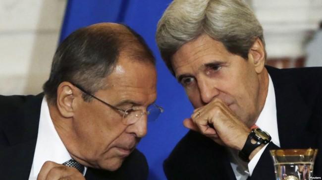 Джон Кери предложи на Сергей Лавров да призове югоизтока на Украйна към разоръжаване