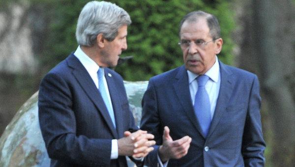 Кери и Лавров искат мирен изход в Украйна
