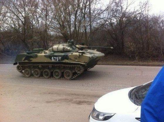 Към Славянск се движат танкове, към Краматорск – бронетранспортьори