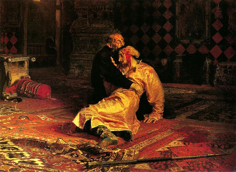 Иван Грозни убива сина си