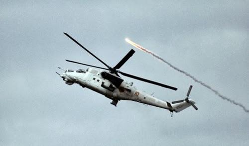 В Донецка област е свален хеликоптер, има загинали