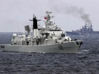 Русия и Китай провеждат съвместни военно-морски учения