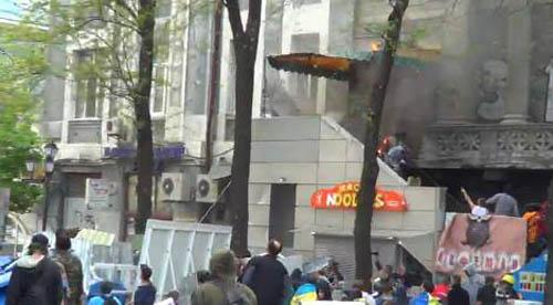 В Одеса подпалиха Български културно-информационен център
