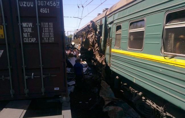 ЖП катастрофа в Подмосковието, има загинали