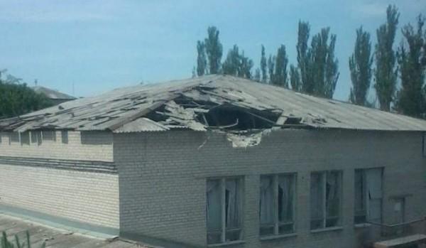 Украински военни обстреляха училище в Славянск