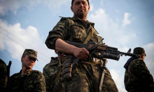Националната гвардия на Украйна разстреля 10 свои войници