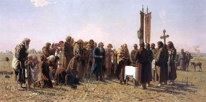 Молебен за дъжд, 1880 г.