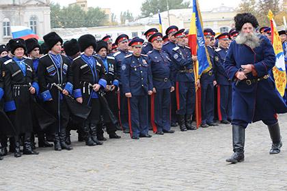 Донски казаци охраняват Дебалцево