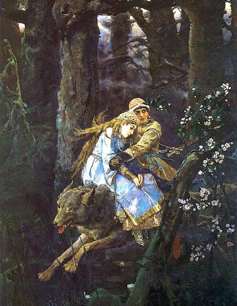 Иван–Царевич на Сером волке