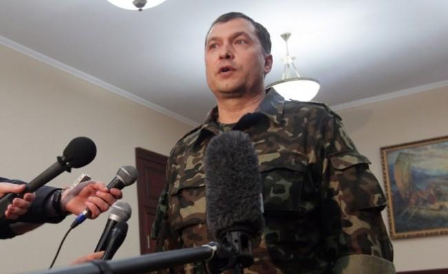 Покушение на народния губернатор на Луганска област