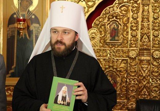Киев обяви митрополит Иларион Волоколамски  за персона нон грата