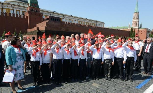 Пионери положиха клетва на Червения площад