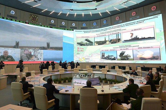 Путин наблюдава тренировката на руската армия за нанасяне на ответен ядрен удар