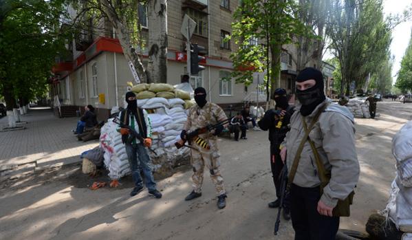 Привържениците на федерализацията в Славянск принудиха гвардията да отстъпи