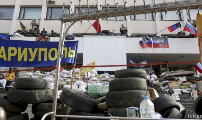 Подпалването на сгради и хора се превръща в норма в Украйна