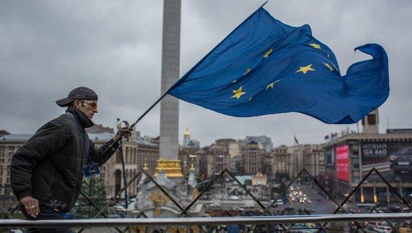 В Брюксел протестират в подкрепа на югоизточна Украйна