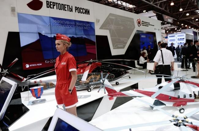В Москва беше открита изложба HeliRussia 2014