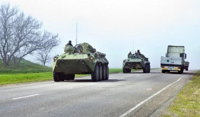 Украински танкове са влезли в Мариупол