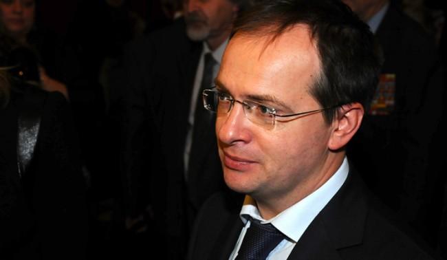 Руският министър на културата стана почетен член на италиански университет