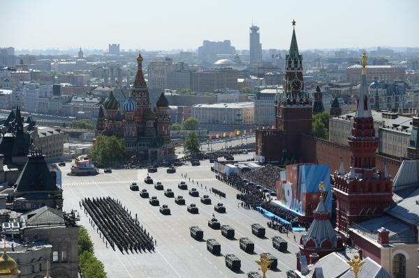 В Москва се проведе военния парад в чест на Деня на победата