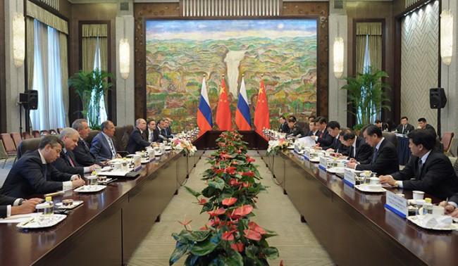 Русия и Китай са против намесата във вътрешните работи на държавите
