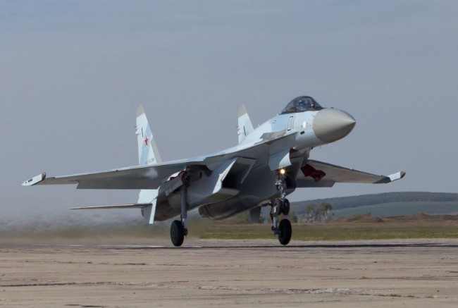 Руското ВВС с нови изтребители