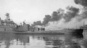 Экипаж подводной лодки уходит на боевое задание