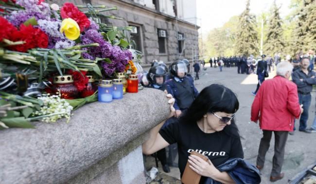 Гражданите на Одеса блокираха сградата на полицията с искане да бъдат наказани виновните за смъртта на хората