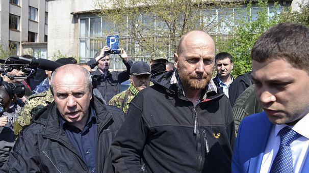 Освободените в Славянск наблюдатели са свързани с военното разузнаване на Германия