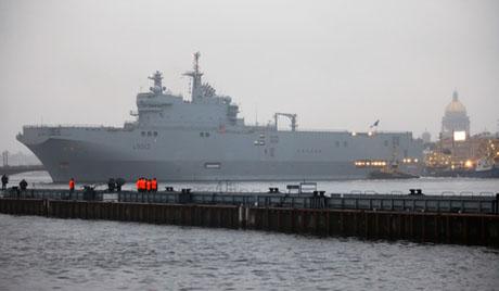 Френският Сен-Назер се готви да приеме 400 руски моряци за обучение