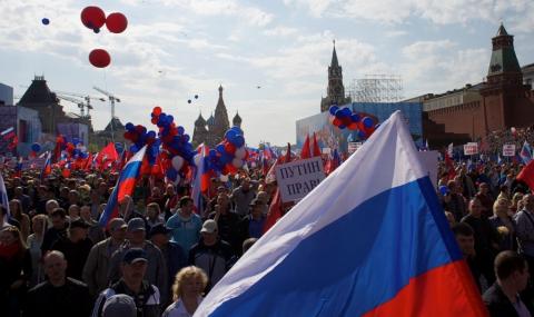 Над 100 000 на Червения площад