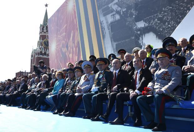 """""""Желязната воля на съветския народ, неговото безстрашие и твърдост спасиха Европа от робство"""""""