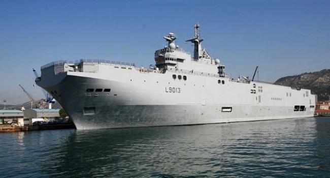 САЩ са обезпокоени от продажбата на френски военни кораби за Русия