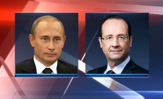 Франсоа Оланд ще се срещне с Владимир Путин на 6 юни
