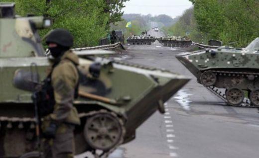 """Опълченците в Луганск обвиниха """"Десен сектор"""" в разстрел на донаборни войници"""