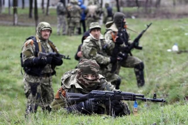 В Славянск се чува стрелба