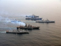 Кораби от Тихоокеанския флот ще участват в руско-китайските учения