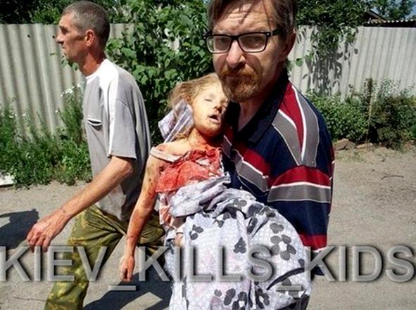Над 40 деца са загинали в Украйна