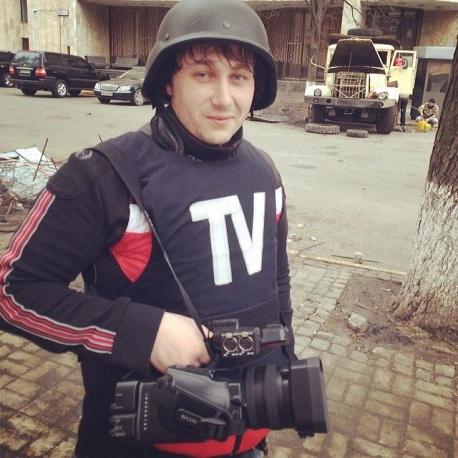 В Москва се прощават със загиналия край Луганск руски журналист