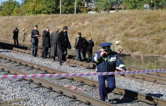 В Запорожска област взривиха железопътен мост