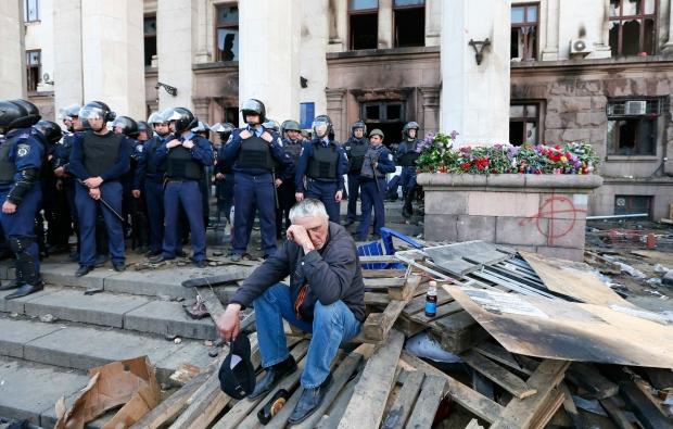 В Мадрид се откри фотоизложба с кадри от трагедията в Одеса1