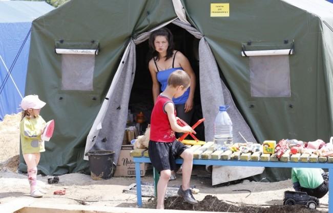 За последното денонощие в Русия са пристигнали около 7 хил. бежанци