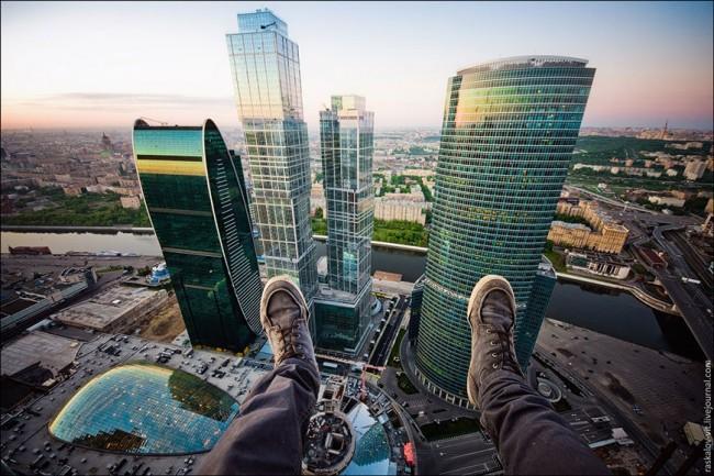 Един поглед на Москва отвисоко