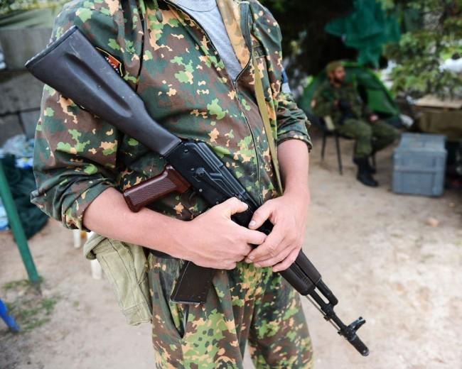 Опълченци превзеха полк на ПВО в Донбас