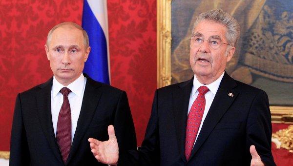 Виена приветства решението на Путин за отмяната на използването на ВС в Украйна
