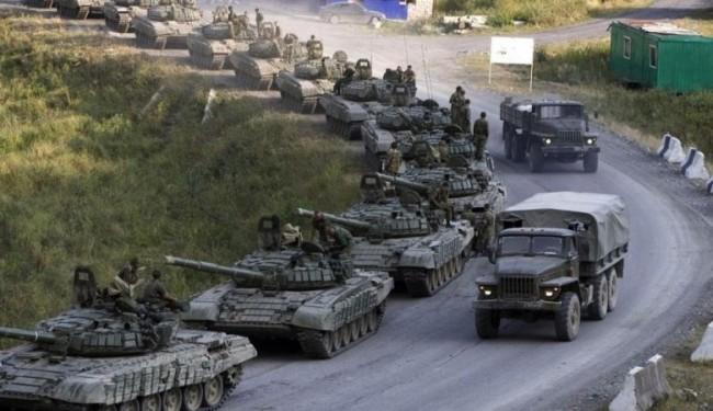 Русия отново стяга войски към границата с Украйна