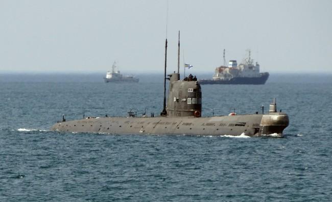 """Спуснаха на вода новата подводница """"Ростов на Дон"""""""