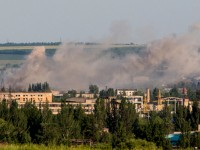 Украински военни възобновили артилерийския обстрел до Луганск